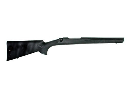 Hogue OverMolded Rifle Stock Remington 700 BDL Short Action Factory Barrel Channel Full Bed Rubber Black
