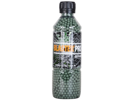 Blaster Pro Invisible Airsoft BBs 6mm .20 Gram Green Bottle of 3000