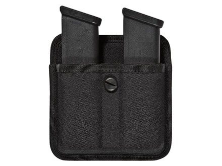 Bianchi 8020 Triple Threat 2 Magazine Pouch Double Stack 10mm, 45 ACP Magazine Nylon Black