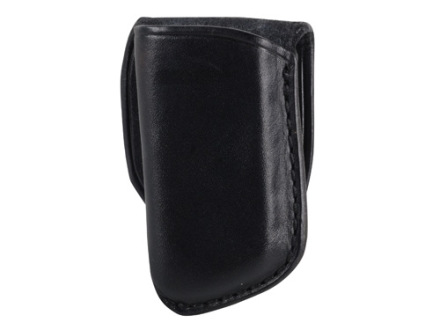 El Paso Saddlery Single Magazine Pouch Single Stack Magazine Leather Black