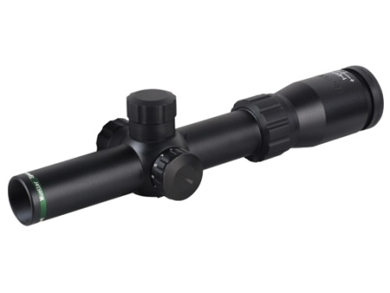 Mueller Speed Shot 1-4x 24mm Rifle Scope 30mm Tube 1/2 MOA Adjustments Illuminated 4 MOA Dot Reticle Matte
