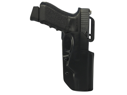 "Blade-Tech DOH Black Ice Belt Holster Right Hand Springfield XDM 45 4.5"" ASR Loop Kydex Black"