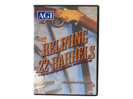 "American Gunsmithing Institute (AGI) Video ""Relining .22 Barrels"" DVD"