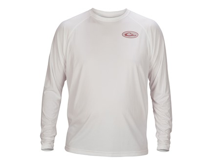 Drake Men's Central Flyway Series T-Shirt Long Sleeve Cotton