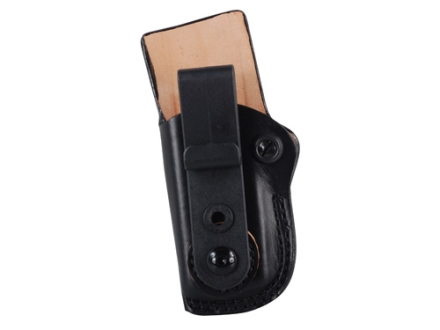 DeSantis Fly High Tuckable Magazine Pouch Single Stack 10mm, 45 Caliber Magazine Leather Black