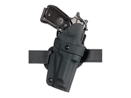 "Safariland 701 Concealment HolsterS&W 39, 59, 439, 459, 639, 659, 915, 3904, 3906, 5903, 5904, 5906, 5923, 5924, 5926, 5946 1.75"" Belt Loop Laminate Fine-Tac Black"