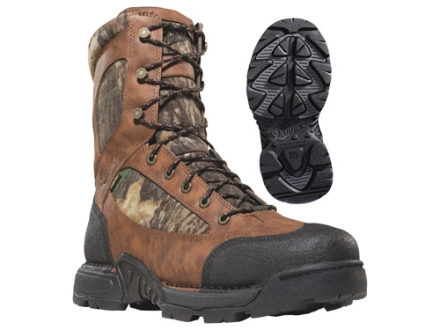 "Danner Pronghorn GTX 8"" Waterproof 800 Gram Insulated Hunting Boots Leather and Nylon Mossy Oak Break-Up Camo Men's 7 D"