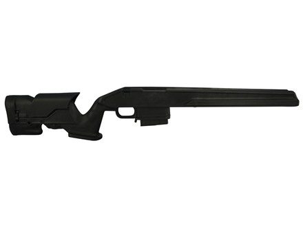 Archangel 700 Precision Stock Remington 700 Short Action with Aluminum Pillar Bedding - Black Polymer 10-Round Magazine