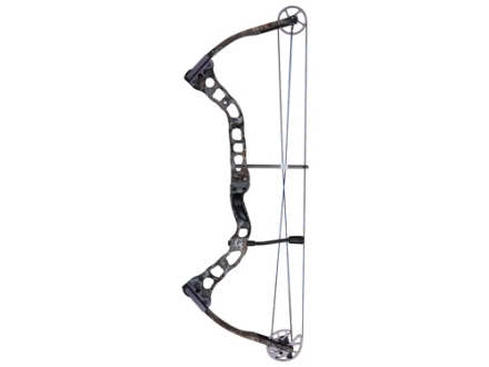 "Quest Torch Compound Bow Right Hand 30-45 lb. 24""-28"" Draw Length Realtree AP HD Camo"