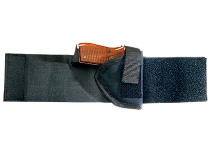 Bulldog Pro Series Ankle Holster Right Hand Bersa 380,  Walther PPK, S&W Sigma Compact 380, TPH 22, TPH 25, Nylon Black