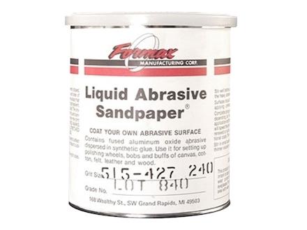 Formax Liquid Abrasive Sandpaper 240 Grit 1 Quart
