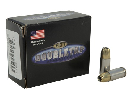 Doubletap Ammunition 9mm Luger +P 124 Grain Brass Jacketed Hollow Point