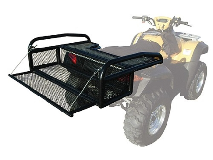 Kolpin ATV Collapsible Rear Drop Rack Steel Black