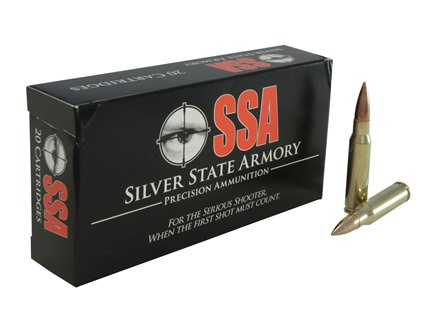 Silver State Armory Ammunition 7.62x51mm NATO 147 Grain M80 Full Metal Jacket Box of 20