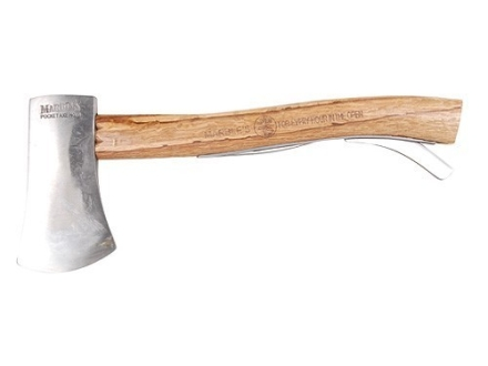 "Marble's #6 Safety Axe 2-3/4"" Carbon Steel Blade 11-1/2"" Overall Length Hickory Wood Handle"