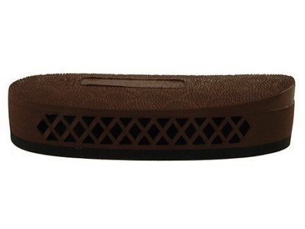 "Pachmayr F325 Deluxe Field Recoil Pad Grind to Fit 1.1"" Medium with Stippled Face Brown"