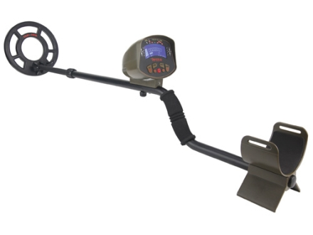 Gamo Raider Digital LCD Metal Detector with Scoop and Carrying Bag Black