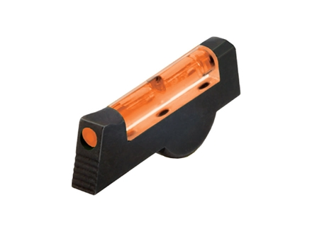 HIVIZ Front Sight S&W K, L, N Frame Revolver with Pinned Front Sight Steel Fiber Optic Orange