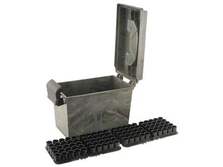 "MTM Shotshell Dry Box 12 Gauge 2-3/4"", 3"" 100-Round Camo"