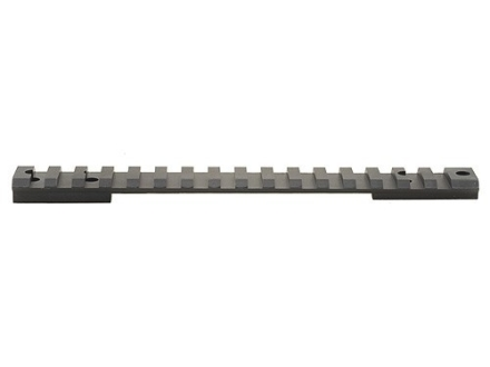 Warne 1-Piece Tactical Picatinny-Style 20 MOA Elevated Scope Base Savage 110 Through 116 Flat Rear Long Action Matte