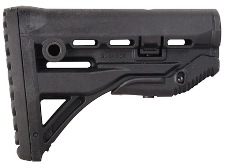 Mako Recoil Reducing Buttstock Collapsible Mil-Spec or Commercial Diameter AR-15, LR-308 Carbine Synthetic Black