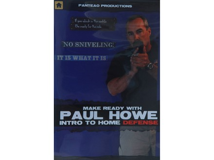 "Panteao ""Make Ready with Paul Howe: Home Defense"" DVD"