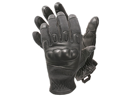 BlackHawk Fury Commando HD Gloves Leather Nylon and Kevlar Black Large