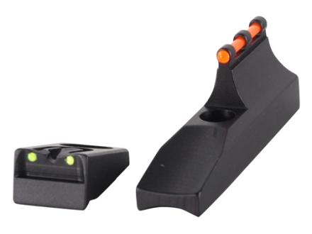 Williams Fire Sight Set Remington 597 (Post 2006) Aluminum Black Fiber Optic Red Front, Green Rear