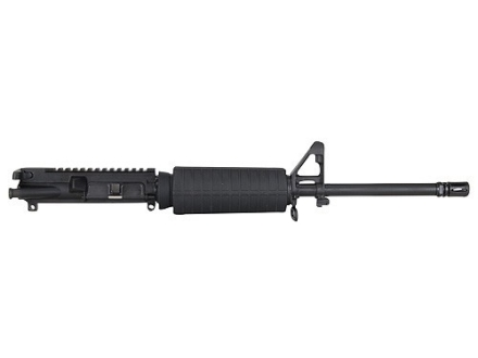 "Olympic Arms AR-15 A3 Flat-Top Upper Assembly 7.62x39mm 1 in 10"" Twist 16"" Barrel Stainless Steel Black with M4 Handguard, Flash Hider, 30-Round Magazine Pre-Ban"