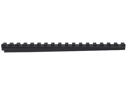"Advanced Technology Picatinny Rail 7"" Length 12 O'Clock Fits ATI Strikeforce Stock for Ruger Mini-14, Mini-30 Aluminum Black"