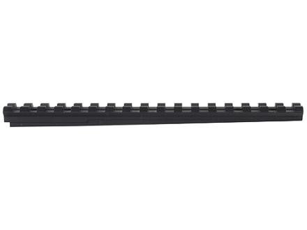 "Advanced Technology Picatinny Rail 7"" Length 12 O'Clock Fits ATI Strikeforce Stock for Ruger Mini-14, Mini-30 Aluminum Black"