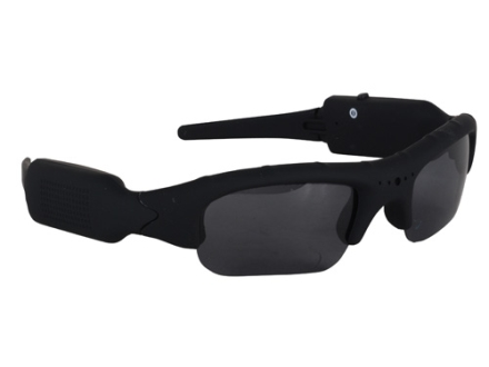 Hunter's Specialties I-KAM Xtreme Video Camera Hunting Glasses 3.0 Megapixel Polymer Frame Black