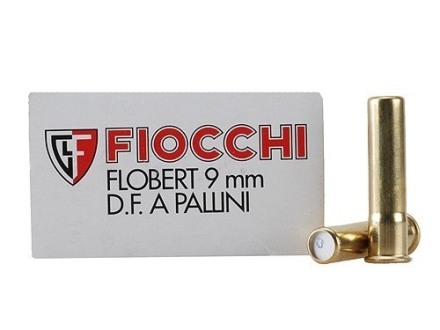 Fiocchi Specialty Ammunition 9mm Rimfire #6 Shot Shotshell Box of 50