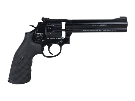 "Smith & Wesson 586 Air Pistol 6"" Barrel 177 Caliber Pellet Black"