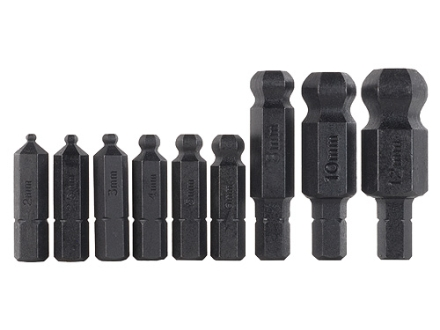 Bondhus Ball End Hex Wrench Bit Set 2mm-12mm