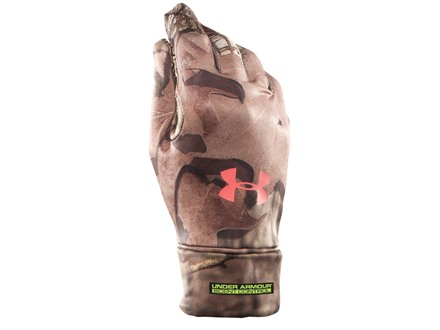 Under Armour Women's UA Scent Control Gloves Polyester Mossy Oak Break-Up Infinity Camo Small