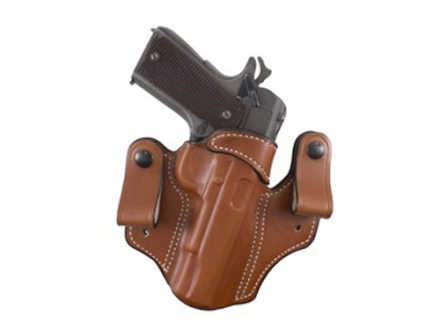 DeSantis Mad Max Tuckable Inside the Waistband Holster Right Hand 1911 Government, Commander Leather Tan