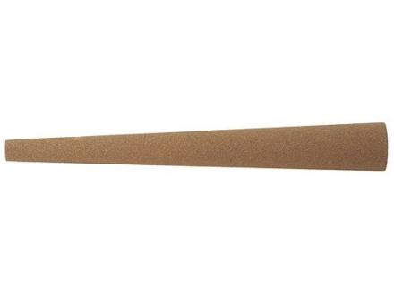 """Norton India Sharpening Stone Tapered Round 4"""" x 1/2"""" x 1/4"""" Medium"""