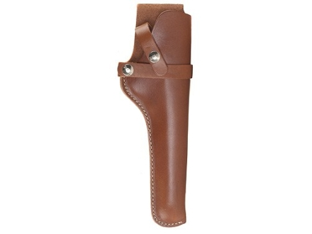 "Hunter 1100 Snap-Off Belt Holster Right Hand 10"" Thompson Center Contender Barrel Unscoped Leather Tan"