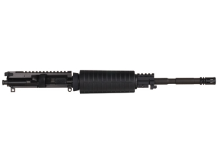 "CMMG AR-15 Sierra A3 Flat-Top Upper Assembly 22 Long Rifle 1 in 16"" Twist 16"" Barrel WASP Melonite Finished Chrome Moly Matte with M4 Handguard, Flash Hider"