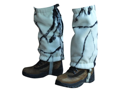Stormkloth II Men's SKII Fleece Leg Gaiters Polyester Stormkloth Snowstorm Camo