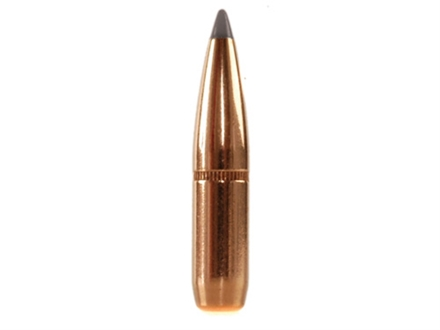 Blemished Bullets 264 Caliber, 6.5mm (264 Diameter) 140 Grain Polymer Tipped Spitzer Boat Tail Box of 100 (Bulk Packaged)