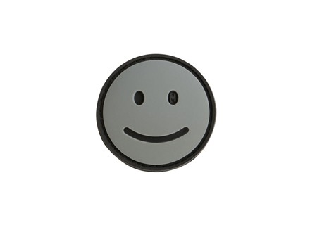 "Maxpedition Happy Face Gray and Black 1.5"" x 1.5"""