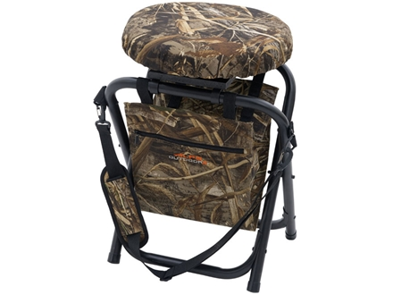 ALPS Outdoorz Horizon 360 Degree Swivel Stool Steel Frame Nylon Seat Realtree Max-4 Camo