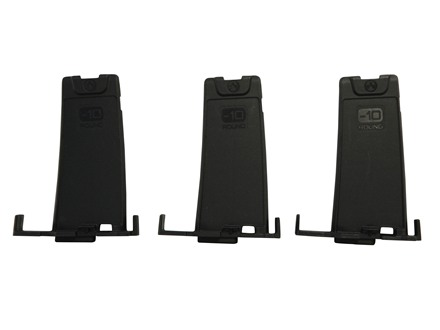 Magpul PMAG Minus 10-Round Limiter for Gen M3 Pmags 223 Remington Polymer Black Package of 3