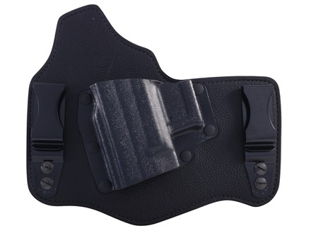 "Galco King Tuk Tuckable Inside the Waistband Holster Left Hand Springfield XD 3"", 4"", XDM 3.8""  Leather and Kydex Black"