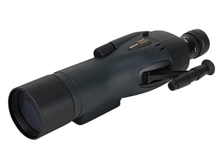 Nikon Prostaff Spotting Scope 16-48x 65mm Straight Body Armored Black Factory Reconditioned