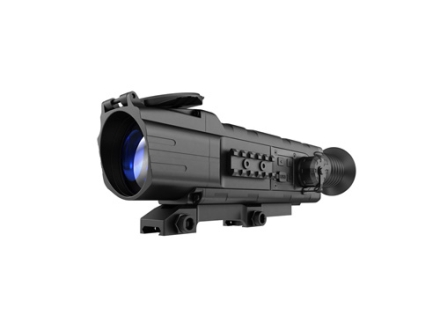 Pulsar Digisight N550 Digital Night Vision Rifle Scope 4.5x 50mm Multi-Reticle Option with Integral Weaver-Style Mount Matte