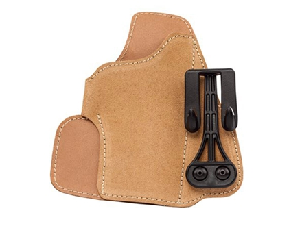Blackhawk Tuckable Holster Inside the Waistband Right Hand Glock 26, 27, 33 Leather Brown