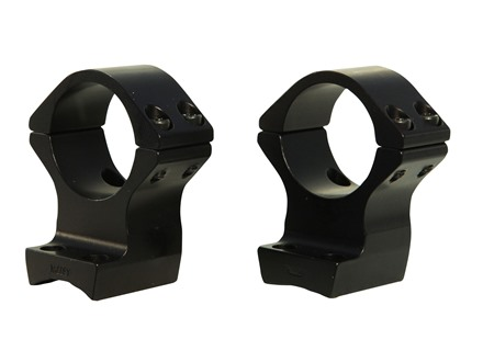 "Talley Lightweight 2-Piece Scope Mounts with Integral 1"" Rings Browning X-Bolt Matte High"